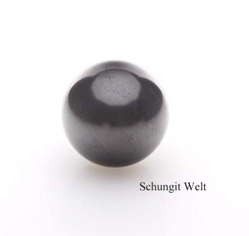Schungit-Kugel poliert 7 cm-0